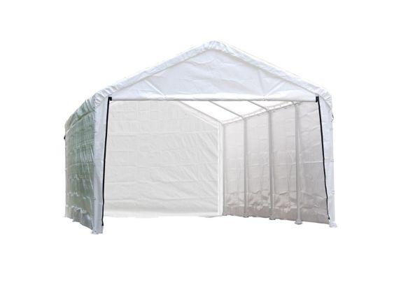 ShelterLogic Canopy Enclosure Kit, White, 12x26-ft Product image