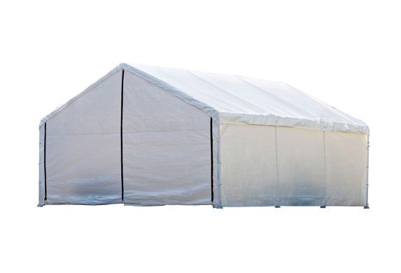 Parois d'abri de rechange ShelterLogic Super Max, blanc, 18 x 20 pi Image de l'article