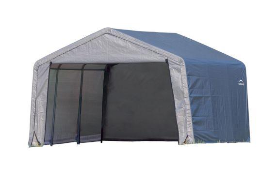 ShelterLogic Peak Style Storage Shed, 12x12x8-ft Product image