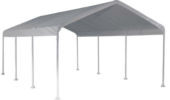 ShelterLogic Super Max™ 8-Leg Frame Canopy, White, 12-ft x 20-ft Product image