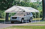 ShelterLogic Super Max™ 8-Leg Frame Canopy, White, 12-ft x 20-ft | Shelter Logicnull