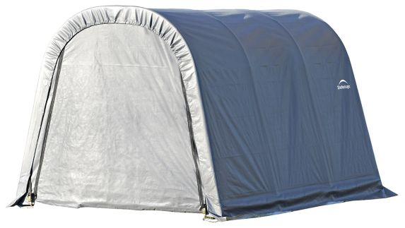 ShelterLogic ShelterCoat™ Round Style Shelter, Grey, 10-ft x 12-ft x 8-ft Product image
