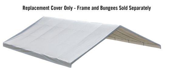 Toile d'abri de rechange ShelterLogic, 30 x 40 pi, blanc Image de l'article