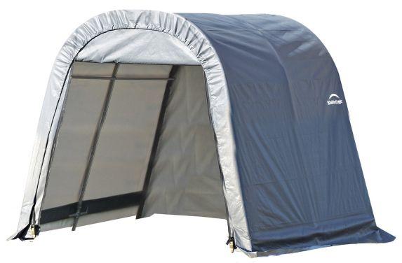ShelterLogic ShelterCoat™ Round Style Shelter, Grey, 11-ft x 12-ft x 10-ft Product image