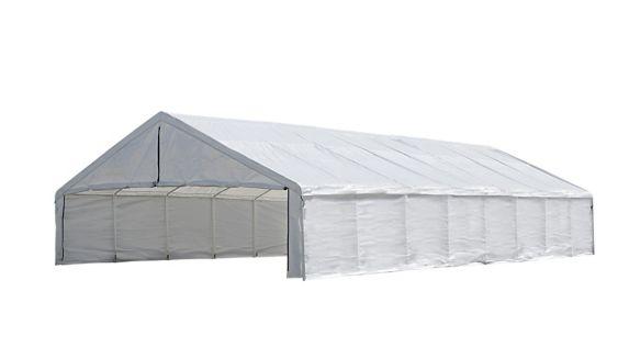 ShelterLogic Ultra Max™ Canopy Enclosure Kit, White, 30-ft x 50-ft Product image