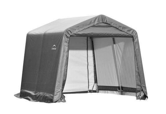 Abri à toit pointu ShelterLogic ShelterCoat, gris, 10 x 16 x 8 pi Image de l'article