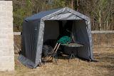 Abri à toit pointu ShelterLogic ShelterCoat, gris, 11 x 16 x 10 pi | Shelter Logicnull