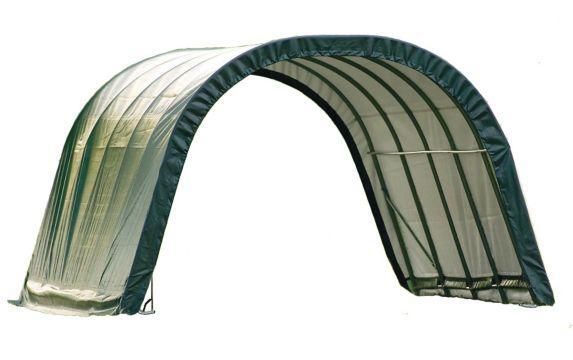 ShelterLogic Round Style Run-In Shelter, 12-ft x 20-ft x 8-ft Product image