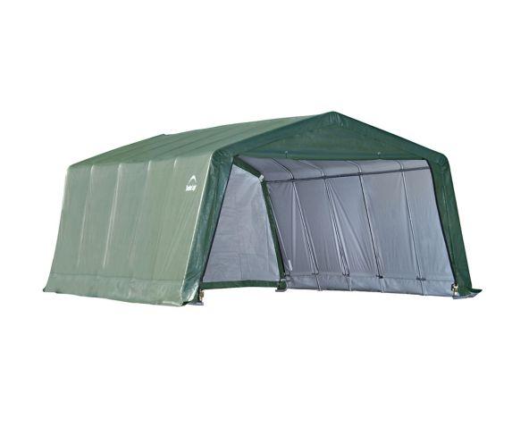 ShelterLogic Peak Style Hay Storage Shelter, 12-ft x 20-ft x 8-ft Product image