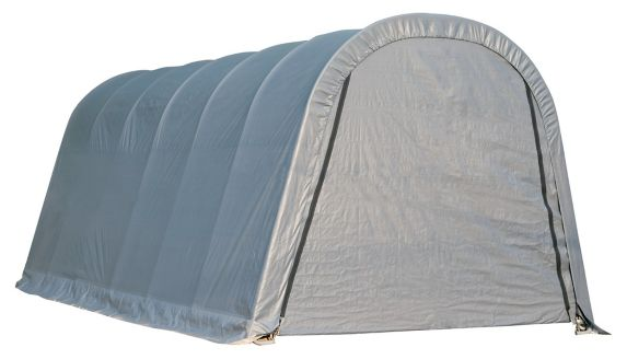 Abri à toit arrondi ShelterLogic ShelterCoat, gris, 13 x 20 x 10 pi Image de l'article