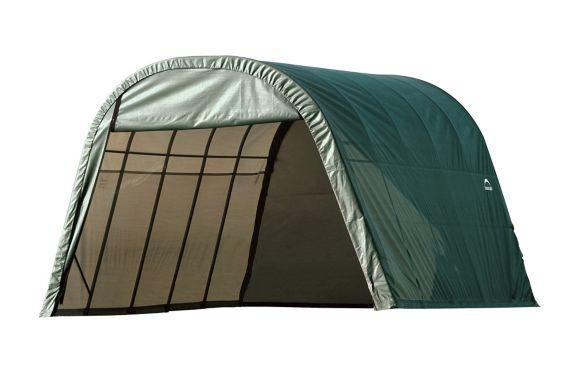 Abri à toit arrondi ShelterLogic ShelterCoat, vert, 13 x 20 x 10 pi Image de l'article