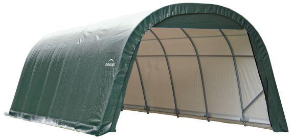 Abri à toit arrondi ShelterLogic ShelterCoat, vert, 12 x 24 x 8 pi Image de l'article
