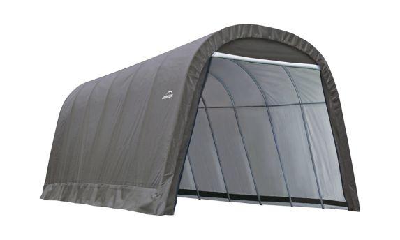 Abri à toit arrondi ShelterLogic ShelterCoat, gris, 13 x 24 x 10 pi Image de l'article