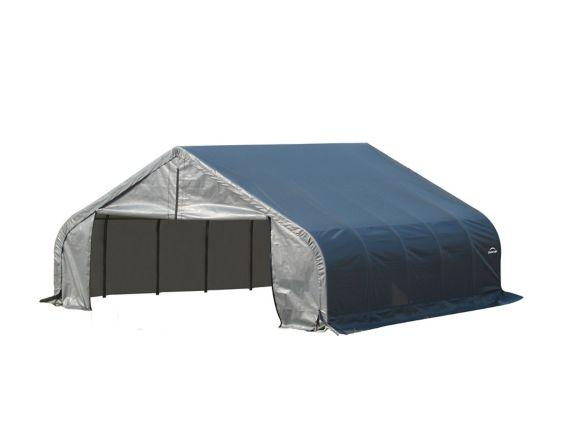 ShelterLogic ShelterCoat™ Peak Style Shelter, Grey, 22-ft x 20-ft x 11-ft Product image