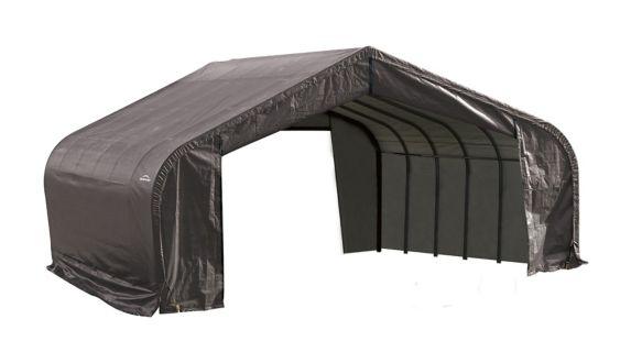 ShelterLogic ShelterCoat™ Peak Style Shelter, Grey, 22-ft x 24-ft x 11-ft Product image