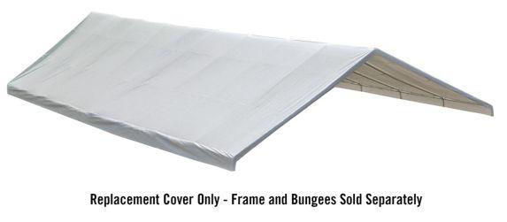 Toile d'abri de rechange ShelterLogic, 30 x 50 pi, blanc Image de l'article