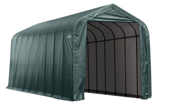 Shelter Logic Peak Style Shelter, Green Product image