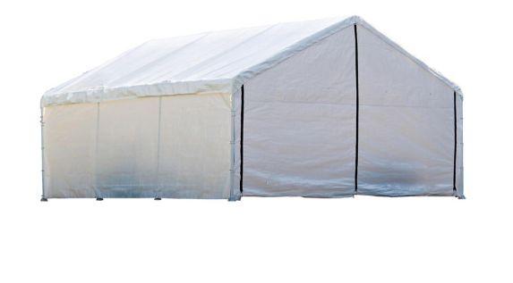 Panneaux pour enceinte Shelterlogic, blanc, 18 x 30 pi Image de l'article