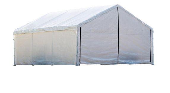 ShelterLogic Canopy Enclosure Kit, White, 18x40-ft Product image