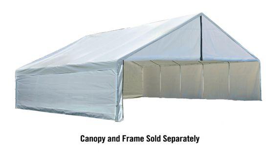 Trousse de parois pour abri Shelter Logic, blanc, 30 x 40pi Image de l'article