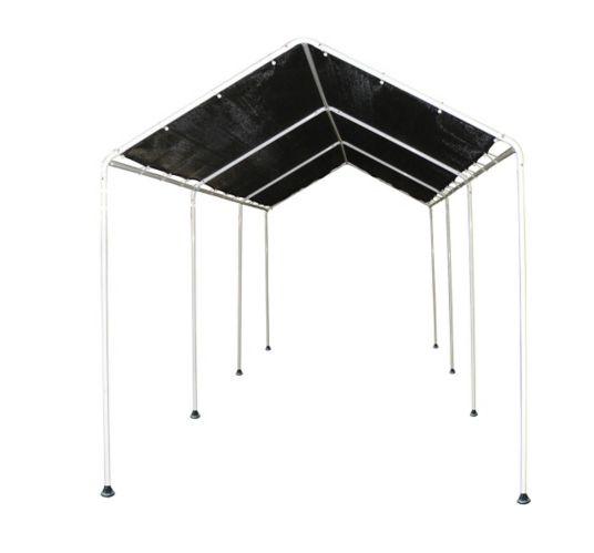 ShelterLogic Shade 8-Leg Frame Canopy, Black, 8-ft x 20-ft Product image