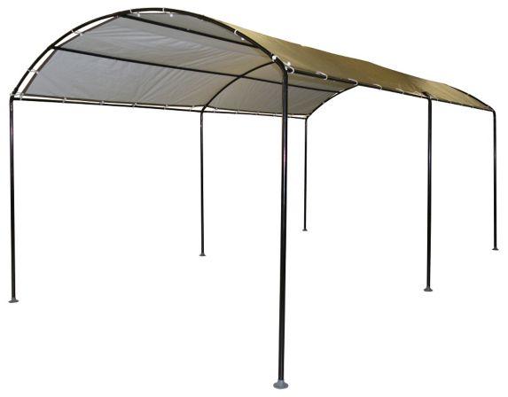 ShelterLogic Monarch Canopy, Black, 10-ft x 18-ft Product image