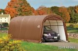 Toile de rechange ShelterLogic pour abri à toit rond, brun | Shelter Logicnull