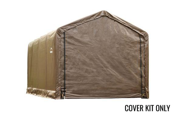 Toile de rechange Shelter Tube, abri arrondi, brun Image de l'article