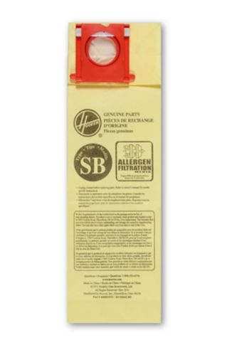 Sacs antiallergènes pour aspirateur Hoover, type SB, paq. 10 Image de l'article