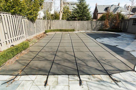 Bâche d'hiver pour piscine creusée CoverTech, rectangulaire Image de l'article