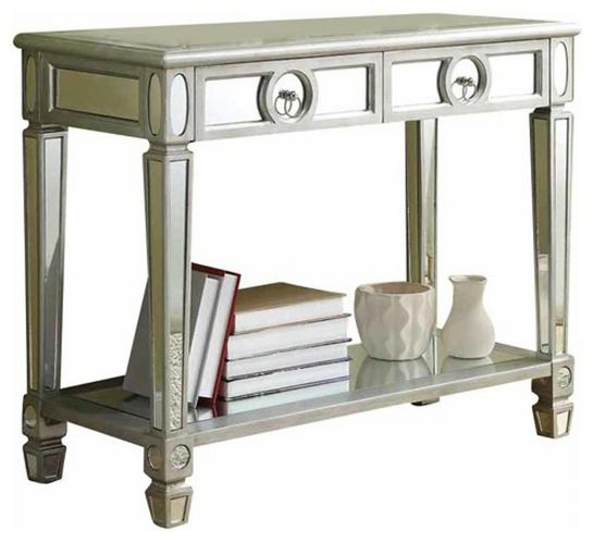 Monarch Silver Mirror Finished Hallway Table Product image
