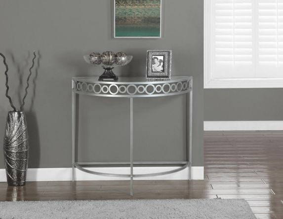 Monarch Rounded Metal Hallway Table Product image