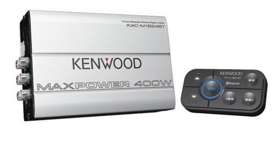Kenwood KAC-M1824BT 2/4 Channel Micro Power Amp with Bluetooth Control Product image