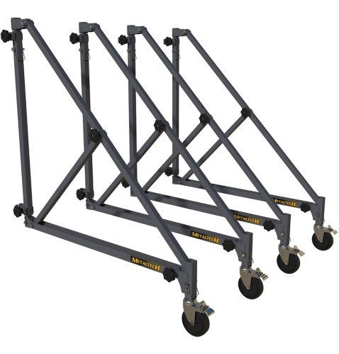 Balanciers MetalTech avec roulettes, 46 po Image de l'article