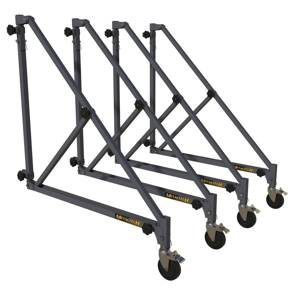 MetalTech Outriggers with Castors, 46-in