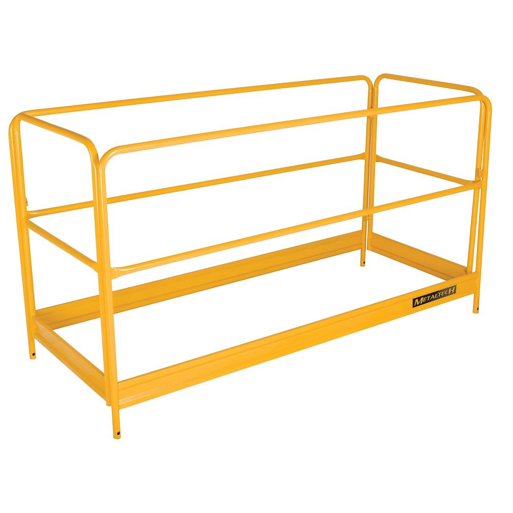 MetalTech Guard Rail System for Scaffolding