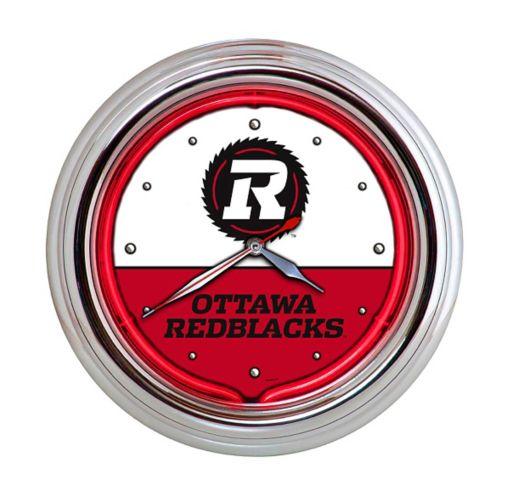 Horloge murale au néon, Redblacks d'Ottawa, 17 po Image de l'article