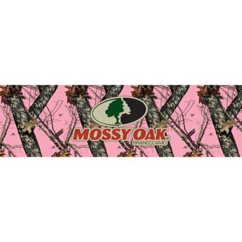 Pellicule pour vitre camouflage Break-Up rose avec logo Mossy Oak, camionnette compacte Image de l'article
