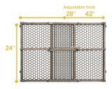 Barrière de sécurité pour bébé Safety 1st, bois, gris | Safety 1stnull