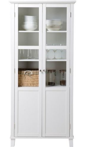 Armoire de rangement à 2 portes Homestar, blanc Image de l'article