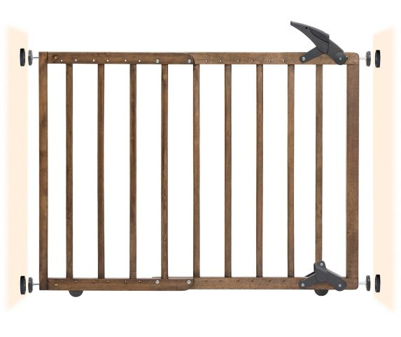 Dreambaby Nottingham 2-in-1 Gro-Gate® Driftwood Product image