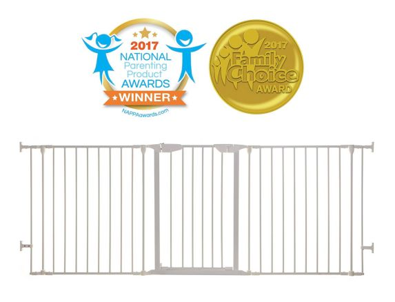 Dreambaby Mayfair Coverta® 3-in-1 Play-Pen Gate, White Product image