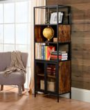 Homestar Mixed Material Display Cabinet with Glass Doors   Homestarnull
