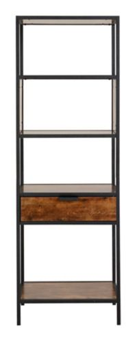 Homestar Mixed Material Display Cabinet with Drawer Product image