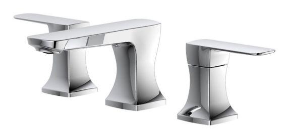 Robinet de lavabo vaste à 2 poignées Danze Aztek, chrome Image de l'article