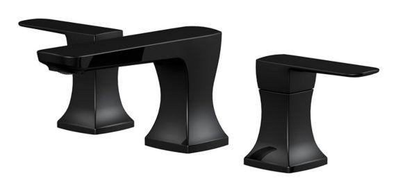 Danze Aztek 2-Handle Widespread Lavatory Faucet, Matte Black Product image
