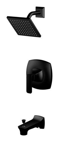 Danze Aztek Single Fandle Tub & Shower Faucet, Matte Black Product image