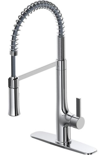 Danze Selwyn 1-Handle Pull Down Commercial Kitchen Faucet, Chrome Product image