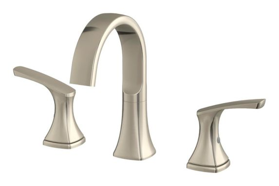 Danze Karter 2-Handle Widespread Lavatory Faucet, Brushed Nickel Product image