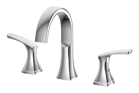 Danze Karter 2-Handle Widespread Lavatory Faucet, Chrome Product image